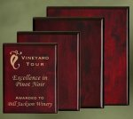 Piano Finish Wood Plaques Achievement Awards